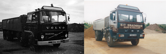 SC Bradshaw History: Our Old Trucks!